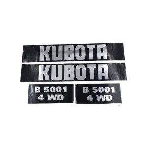 Sticker set Kubota B5001