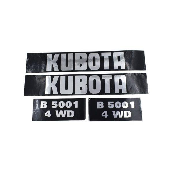 Sticker set Kubota B5001
