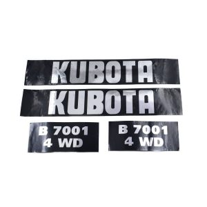 Sticker set Kubota B7001