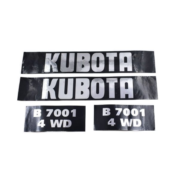 Sticker set Kubota B7001