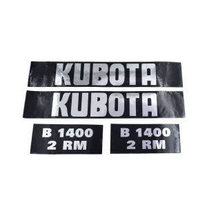 Sticker set Kubota B1400