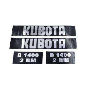 Sticker set Kubota B1400