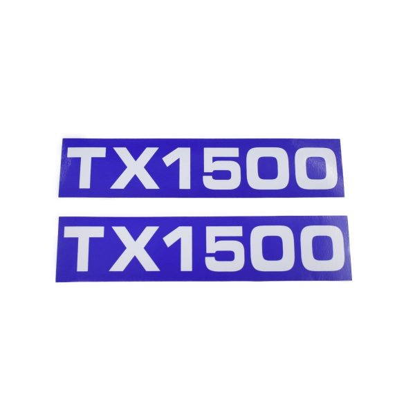 Sticker set Iseki TX1500