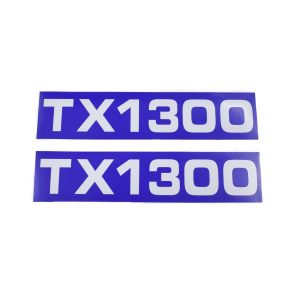 Sticker set Iseki TX1300