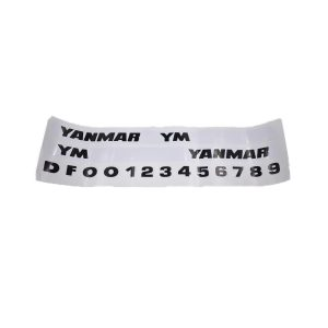 Sticker set Yanmar YM