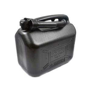 KUNSTSTOF JERRYCAN 10 LITER Te gebruiken voor: Tanken van uw voertuig Afmetingen: Hoogte: 30 cm Breedte: 32 cm Dikte: 18 cm