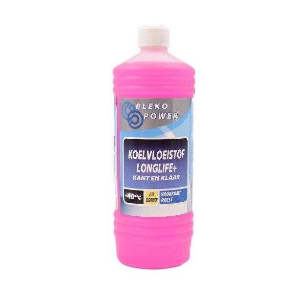 KOELVLOEISTOF 1 LITER Extra info: Inhoud: 1 liter Kant en klaar Voorkomt roest en corrosie Tot -40C Mengbaar met andere koelvloeistoffen