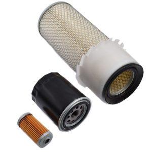 Filterset Hinomoto E232, E262, E264, E2002, E2004, E2302, E2304, E2602, E2604