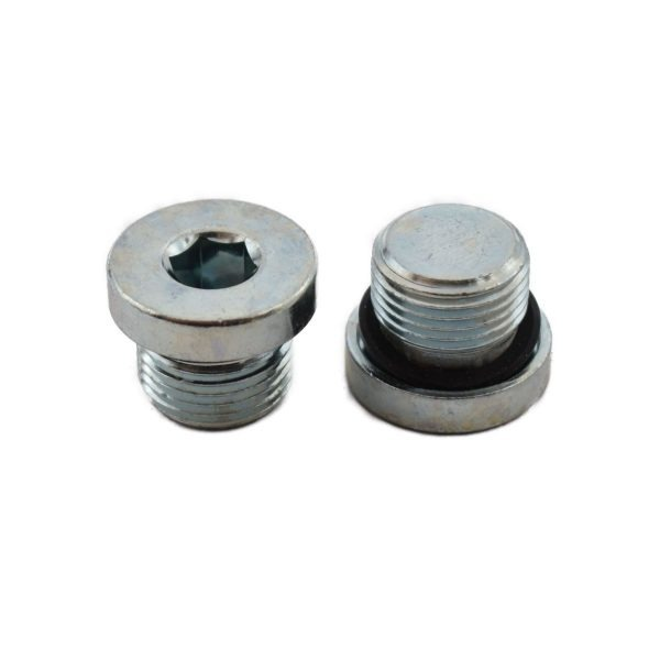 PLUG 3/8 BSP (PER STUK) Extra info: Hydrauliek plug Blindplug Sluitplug Afmetingen: Draad: 3/8 BSP Lengte draad: 12mm