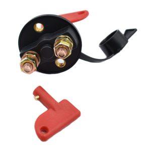 MASSA SCHAKELAAR 100 AMP Extra info: Massa slot Tot 100 ampère Aansluiting: 2x M8 2 sleutels