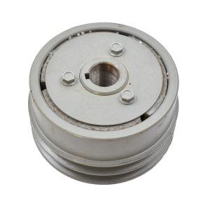 RIEMENSCHEIBE ISEKI Originalteilenummer: C129PAF112 Abmessungen: Außendurchmesser: 136mm Durchmesser Welle: 25mm Höhe: 72,50mm