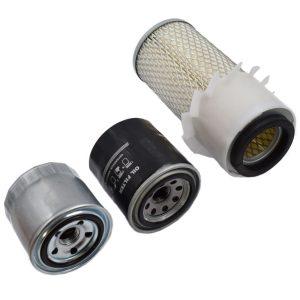 Filterset Kubota L1500, L1501, L1511, L1801, L2000, L2201 Kubota L: L1500 L1501 L1511 L1801 L2000 L2001 Inhoud set: 1x Brandstoffilter 1x Oliefilter 1x Luchtfilter